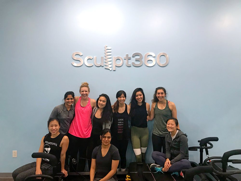 the wharton fit club at sculpt360