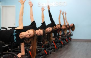 fitness instructors teach class in philadelphia