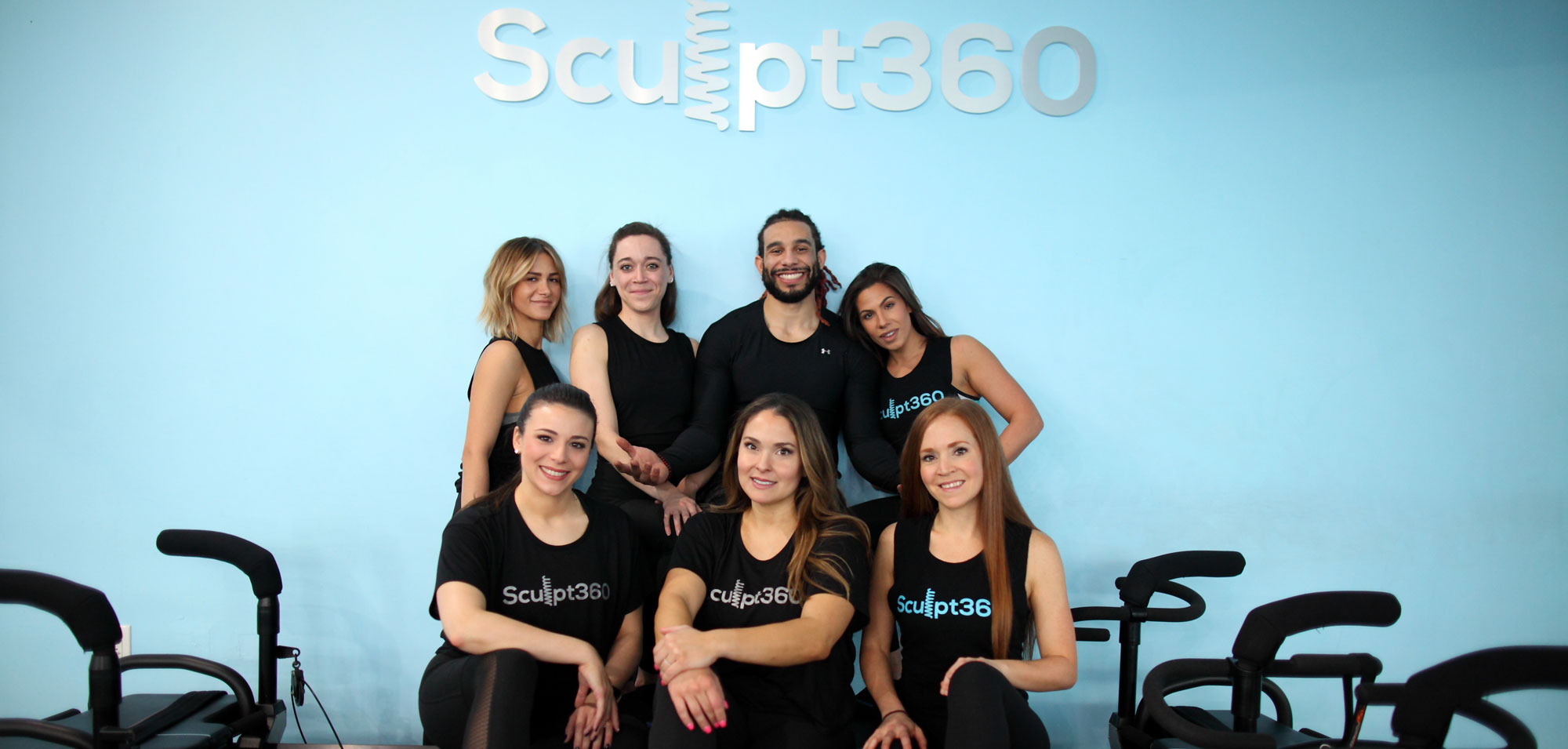 the sculpt360 team in the studio
