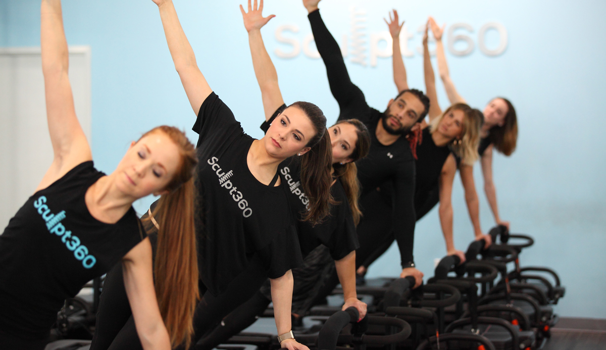 fitness studio workout at Sculpt360